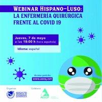 Webinar Hispano-Luso: La Enfermería Quirúrgica frente al Covid 19