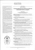 12 recomendaciones para presentar con éxito una comunicación oral en un congreso