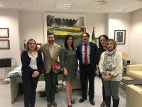 Presentación del XIV Congreso Nacional de Enfermería Quirúrgica a las instituciones regionales y locales en Mérida