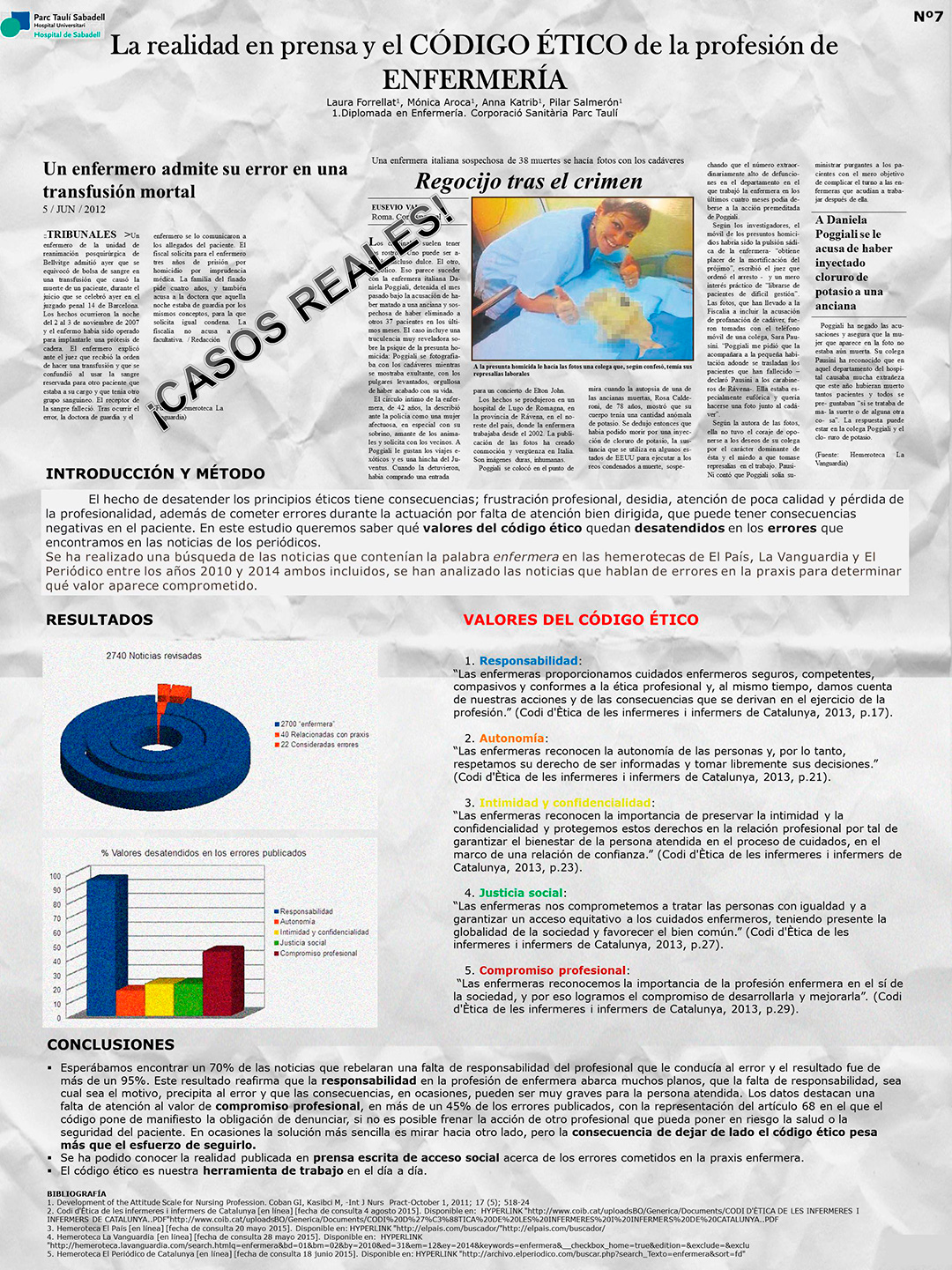 XI Congreso Nacional de Enfermería Quirúrgica | Resúmenes de Posters