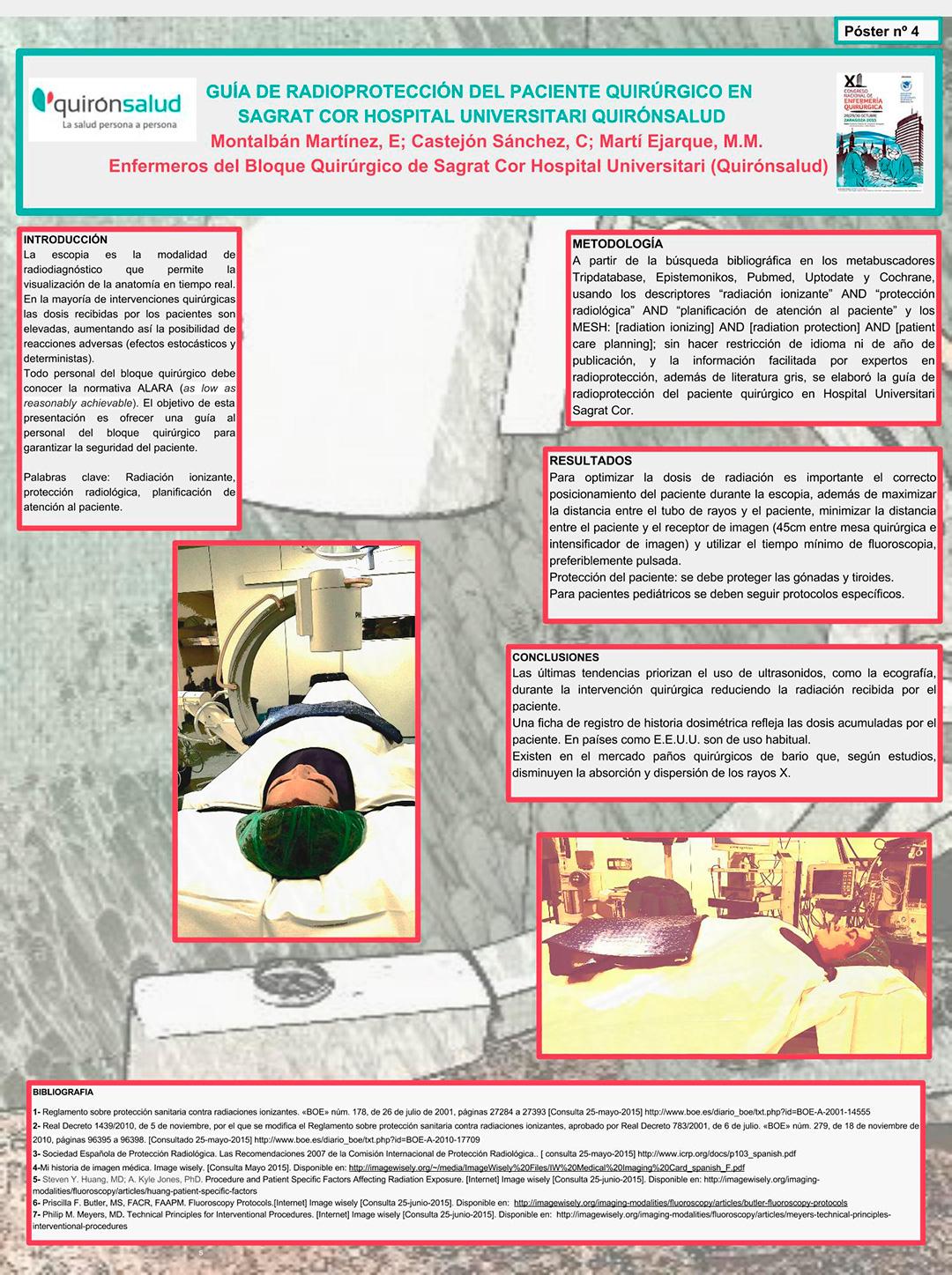 Circuito Quirurgico : Xi congreso nacional de enfermería quirúrgica resúmenes de posters