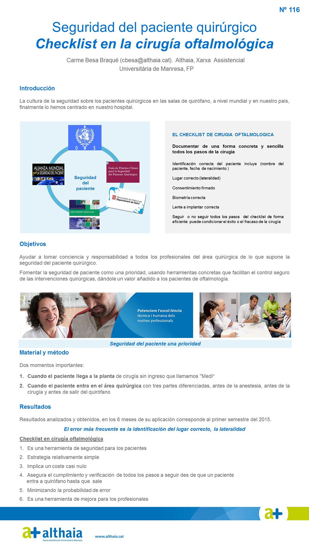 Circuito Quirurgico : Resúmenes de posters xii congreso nacional de enfermería quirúrgica