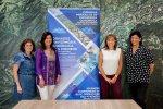 La cònsol major d´Andorra la Vella, Conxita Marsol, recibe a las organizadoras de las Jornadas Pirenaicas de Enfermería Quirúrgica