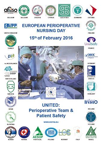Día Europeo de la Enfermería Quirúrgica