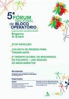 5º Fórum Nacional de Bloco Operatório
