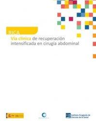 Ya está disponible la VÍA CLÍNICA de Recuperación Intensificada en Cirugía Abdominal (RICA), elaborada con la colaboración de AEEQ
