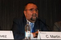 Carlos Martín Trapero, ocio de AEEQ y enfermero de