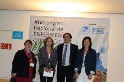 May Karam, presidenta de EORNA participa en el acto inaugural del 14 Congreso de AEEQ, celebrado en Mérida.
